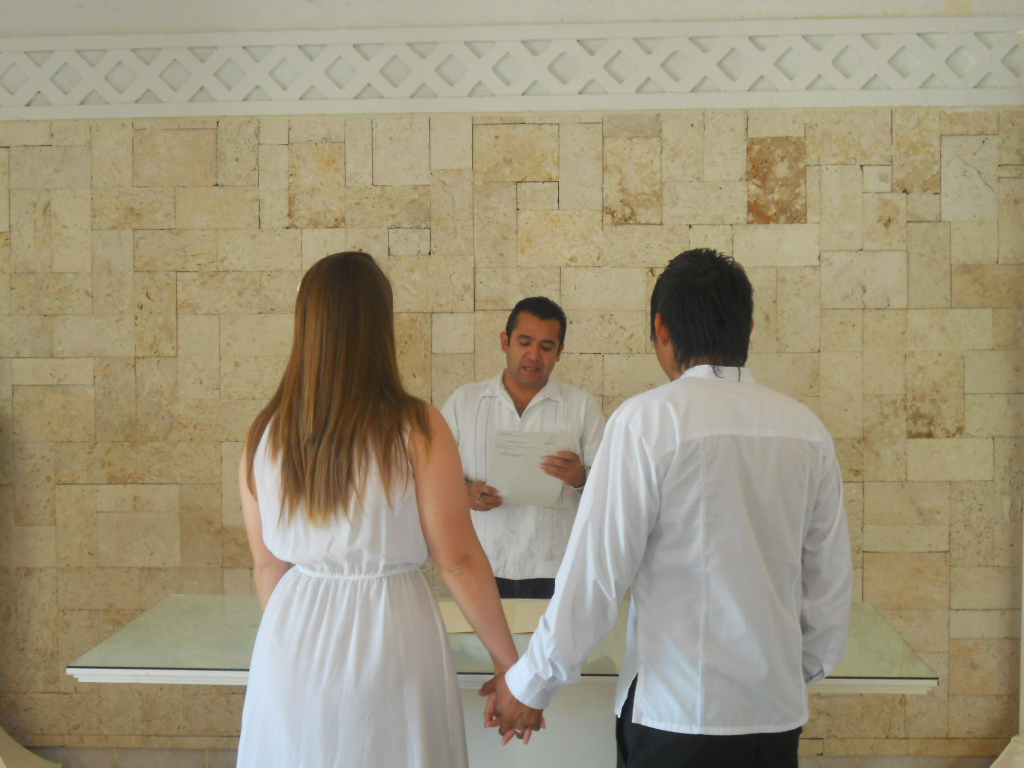 Our civil wedding ceremony gringation cancun were legal junglespirit Gallery